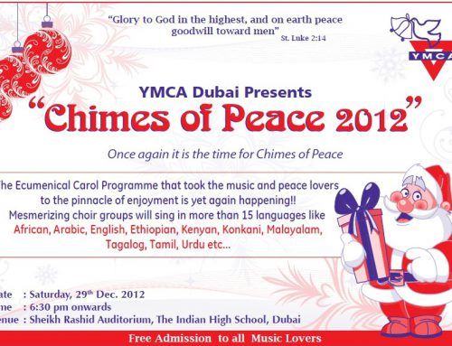 6th Chimes of Peace 2012 – YMCA Dubai